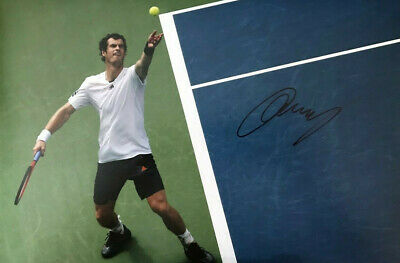 Tennis ~ Andy Murray ~ SIGNED PHOTO 12X8 WITH COA