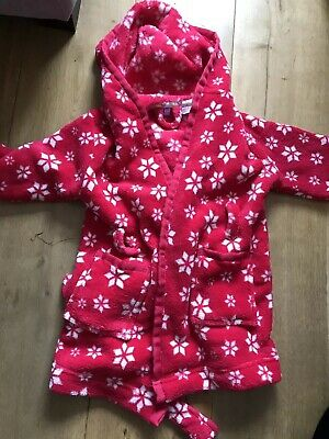 John Lewis Girls Dressing Gown Age 2 Years
