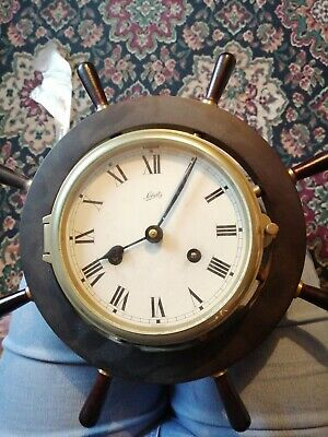 Schatz Mariner 8 Day Ships Wheel Wall Clock Germany