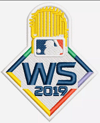 2019 WORLD SERIES WS 2019 PATCH MLB EMBROIDERED IRON SEW CHAMPIONS Washington