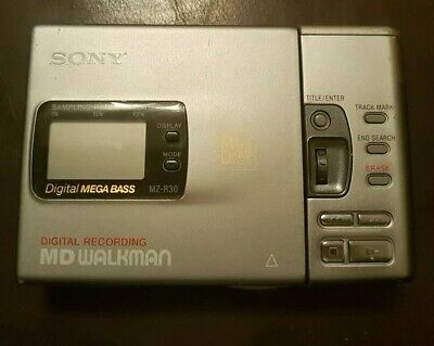 Sony MZ-R30 Personal Mini Disc Recorder Player MZ R30 MD