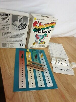 Share Mania Stockmarket Dealing Board Game