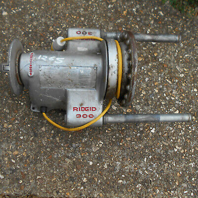Ridgid 300 Pipe Threader 110 V Full Cradle Stand  Used Good Condition