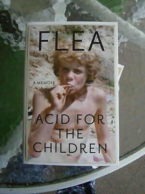 FLEA Acid for children signed By Flea  Book pre order Red Hot Chili Peppers+ COA