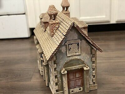 Amazing Antique 19th Or Early 20th C Hand Carved Wooden Mailbox Douse Train Set