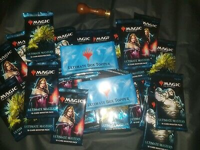 (6 Pakete) *special price* Magic Unopened Revised Ultimate Box Topper MTG