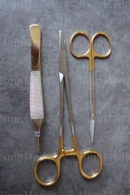 Classic Suture Removal 3 Pcs Kit Surgical Instruments Plastic Surgery Instrument