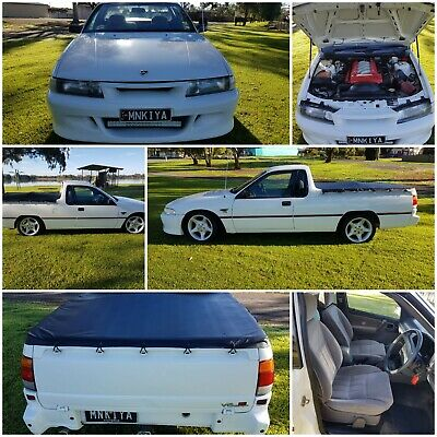 1992 VP HOLDEN UTILITY V8 5 SPEED MANUAL       factory fitted