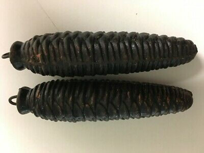 Germany  Pine Cone Cuckoo Clock Weights