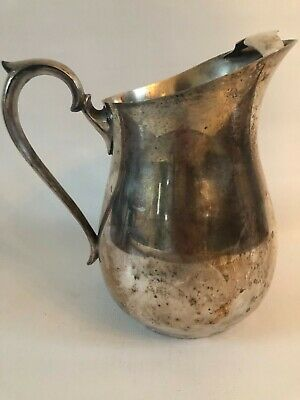 Silverplated Water Pitcher F. B. Rogers Vintage