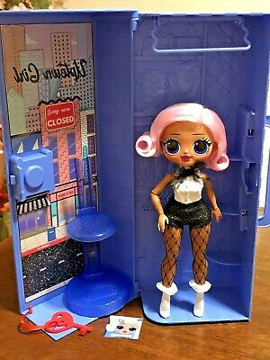 LOL Surprise OMG Ultimate Uptown Girl Doll with Carrying Case & Stand