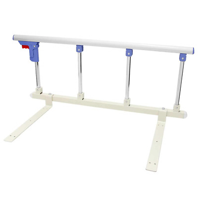 Bed Rail Safety Side Aluminium Alloy Bed Rails with One Key Folding for Kids Bed