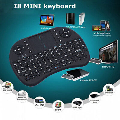 i8 Mini Wireless Air Mouse Keyboard Keypad Remote Control For Android TV Box PC