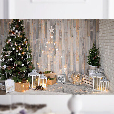 Christmas Tree Photography Backdrop Photo Background for Xmas Party 5x3ft (1831)