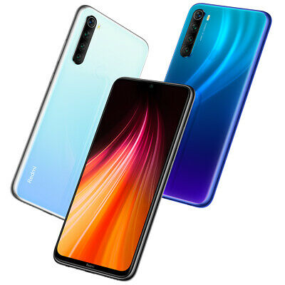 Xiaomi Redmi Note 8 4+128GB /64Gb /3+32GB Cellulare Smartphone Cellulari EU