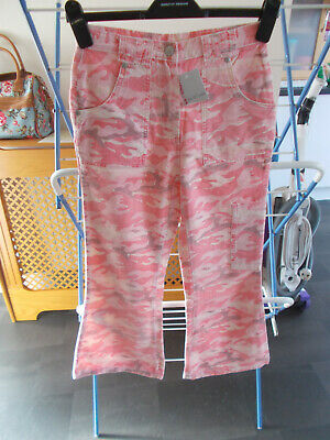 Girls Combat Trousers 10-11Yrs Pink New With Tags