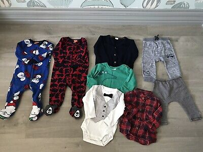 Baby boy winter bundle 3-6 months and 6-9 months 50 Items, Nike Lacoste Next H&M