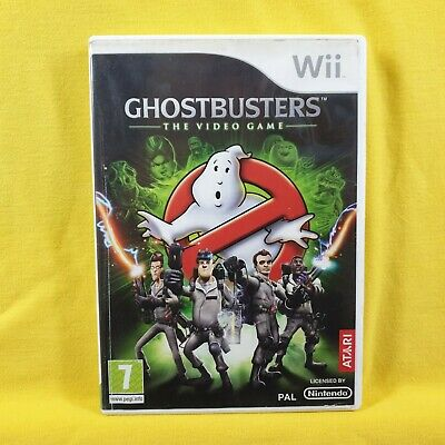 *wii GHOSTBUSTERS (NI) The Video Game PAL UK Version