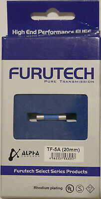 Furutech Pure Transmission TF 5A Fuse ( 20mm) Slow Blow
