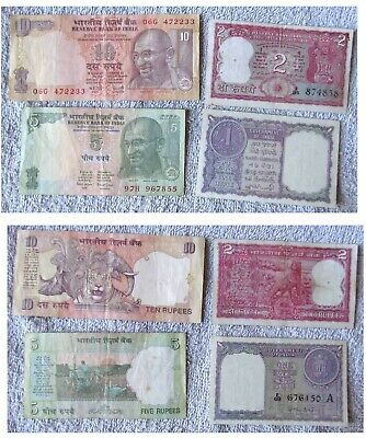 Good Value Banknotes From India One In Near Crisp Condition