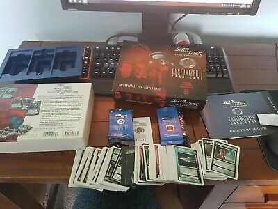 STAR TREK The Next Generation CUSTOMIZABLE CARD GAME KLNGON NEVER PLAYED USED