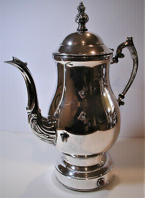 FB Rogers Electric Silverplate Coffee Maker