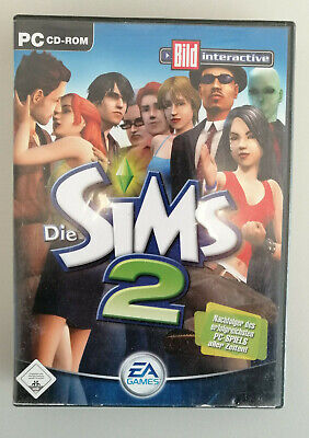 Die Sims 2 (PC, 2004, DVD-Box) Komplette Base Game 4 x CD Version OVP EA Games
