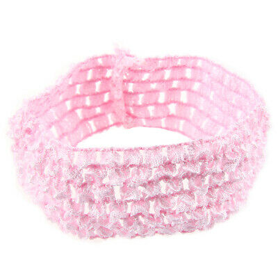"50 Stretch 1.5"" Crochet Baby Girls Hair Band Headbands P6J7) Q6F"