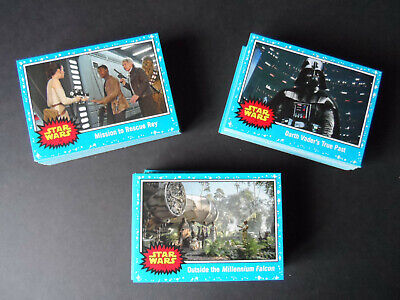 Topps Star Wars Journey To The Rise Of Skywalker 110 Blue Base Set