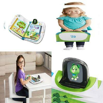 LeapFrog 603903 Holo Educational Book with Games and Learning Activities Blue