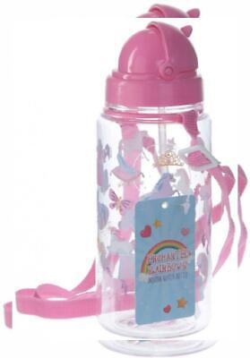 Pink Puckator Enchanted Rainbow Glass Jar with Stopper and cannuccia-unicorno