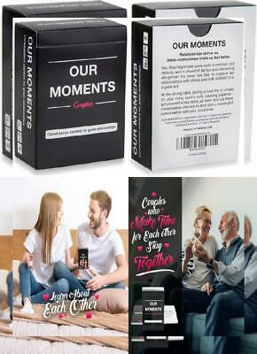 OUR MOMENTS Couples: 100 Thought Provoking Conversation Starters for Great...