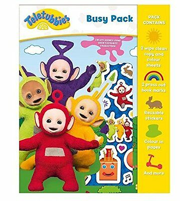 Teletubbies Busy Pack - Kids Colouring Activity