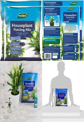 Westland Houseplant Potting Compost Mix and Enriched with Seramis, 4 L 4 Litre