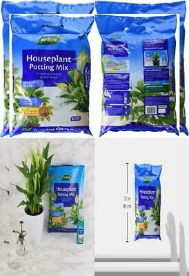 Westland Houseplant Potting Compost Mix and Enriched with Seramis, 8 L 8 Litre