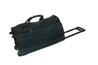 "Briggs & Riley Baseline 26"" Upright Rolling Split Duffle Bag ~ UWD-26 WITH FLAW"