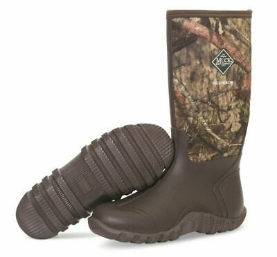 Muck Men's Fieldblazer Hunting Waterproof Boots Mossy Oak Country