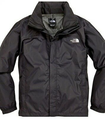 Men's The North Face Resolve Waterproof Outdoor  Jacket Black Size X/Large BNWT