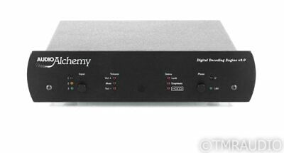 Audio Alchemy Digital Decoding Engine v3.0 DAC; Power Station 4 PSU; DDE