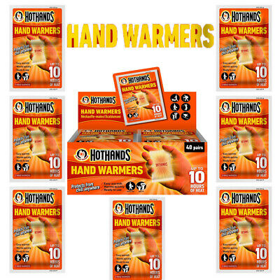 2,4,6,8,10, x Pairs Hot Hands Hand Warmers Up To 10 Hours of Heat-Safe Natural
