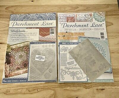 Parchment Lace Magazine by Tattered Lace Issue 4 & 5