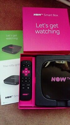 Now TV Smart box 4k 4631uk latest nowtv 4 X passes included HD cinema sports kid