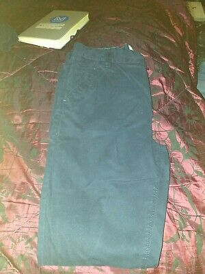 Girls Cotton Jean Style Trousers  14 yrs