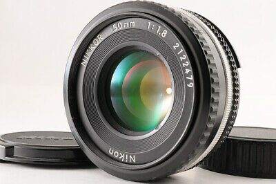 【Excellent+】NIKON AIS 50mm F/1.8 NIKKOR AI-S Pancake For F Mount SLR From JAPAN