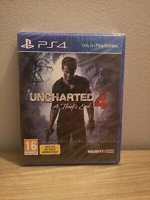 Uncharted 4: A Thief's End PS4 * NEW & SEALED *
