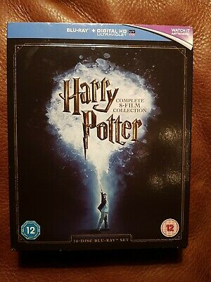 Harry Potter: The Complete 8-Film Collection (Blu-Ray) Daniel Radcliffe