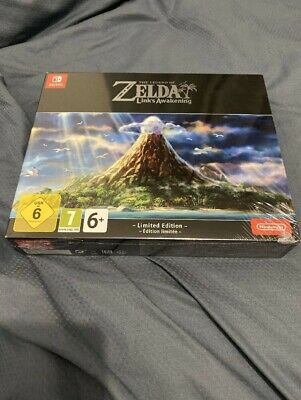 Nintendo Switch - The Legend Of Zelda: Link's Awakening - Limited Edition Boxset