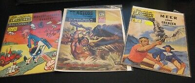 Lot of *8* 1960s/70s International/Foreign CLASSICS ILLUSTRATED! Spanish/German