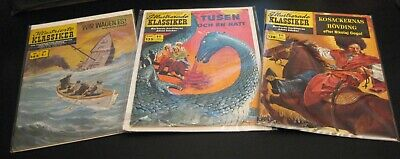 Wow! *10* 1950s-1970s Int'l/Foreign CLASSICS ILLUSTRATED! Spanish/German/French