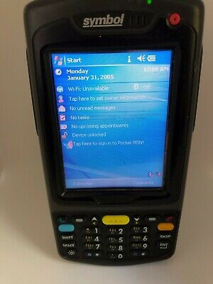 Symbol MC7090 1D Barcode Scanner Terminal without Battery Cover Lcd-Streifen